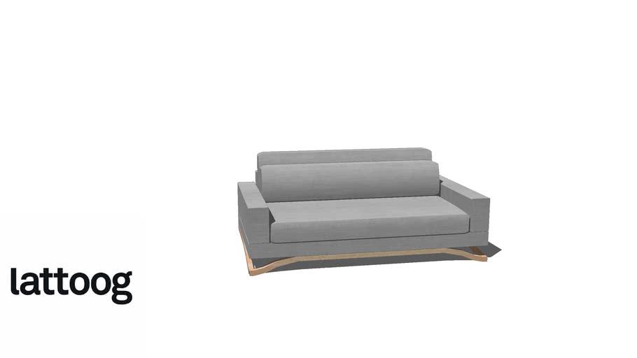 Sofá Float 180 cm - Lattoog