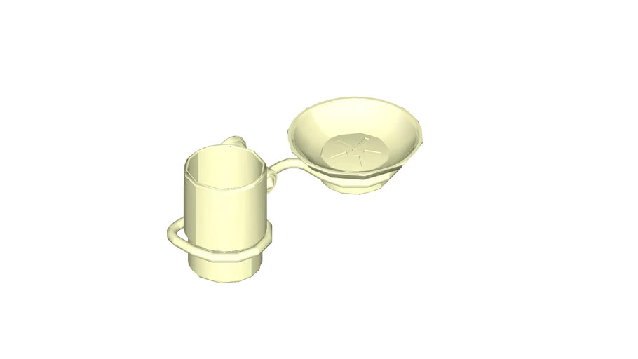 JUSTIME Tumble Holder and Soap Dish 6865-23-80CP