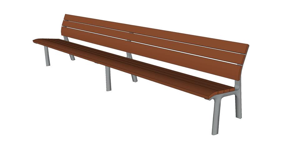 """Neoromantico 118"""" Bench"""