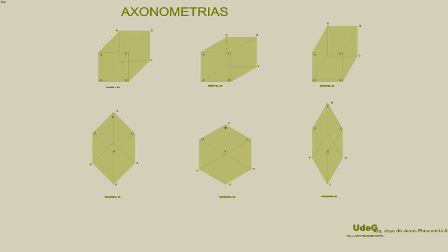 Axonometrias