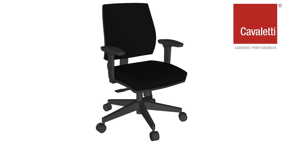 Cadeira Giratória Estofada Mais 37002 - Cavaletti
