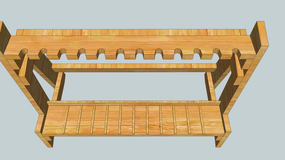 Pavan's Wood Gun Rack