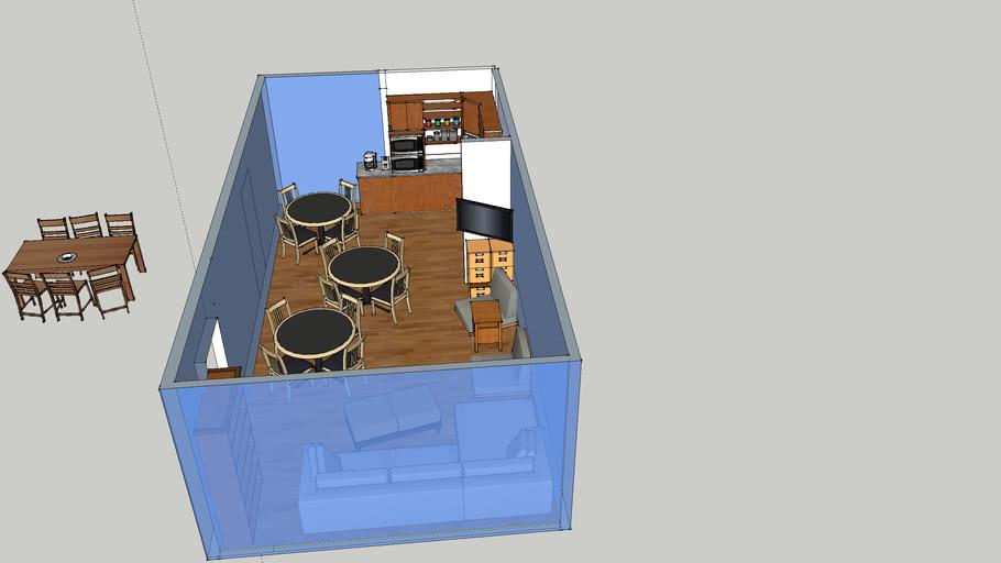 VGH ICU staff lounge plans