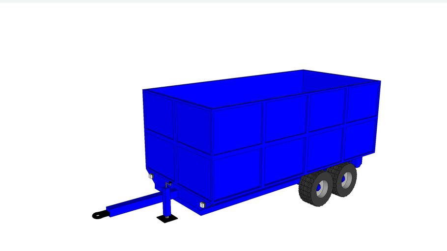 8t tipper trailer