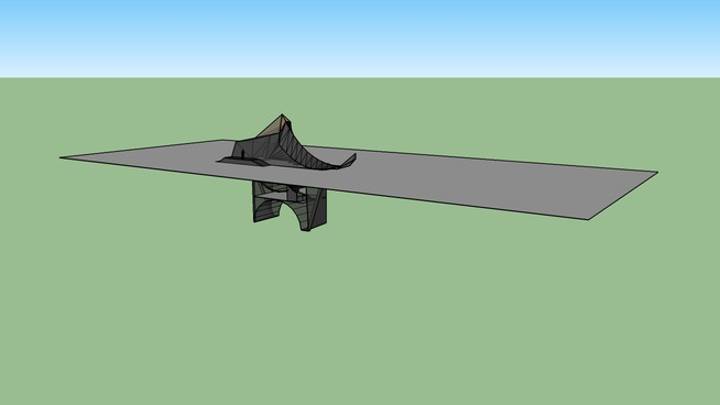 ARCH 1101 EXP 1 Sketchup model