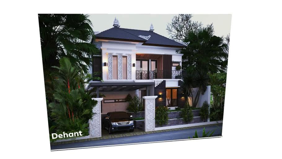 Bali modern house learn texturing