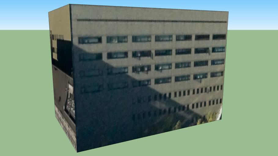 〒100-8985的建筑模型
