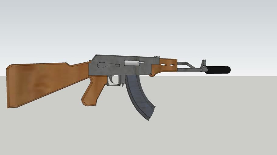 realistic AK