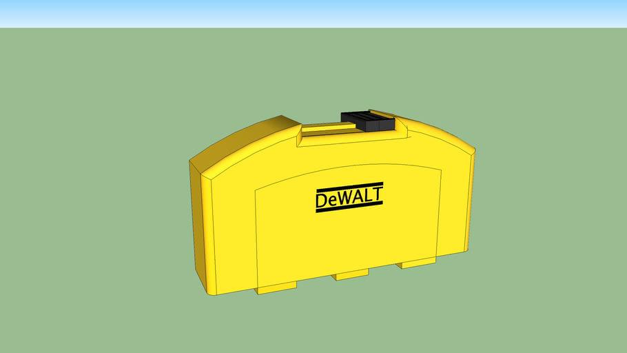 Ethan's DeWalt toolbox