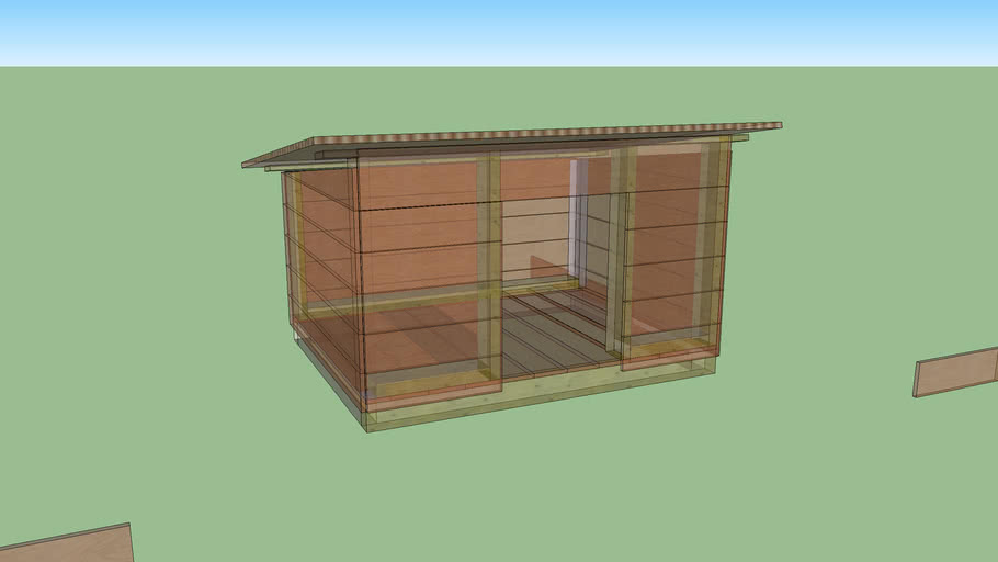 Simple dog's house (unfinished)