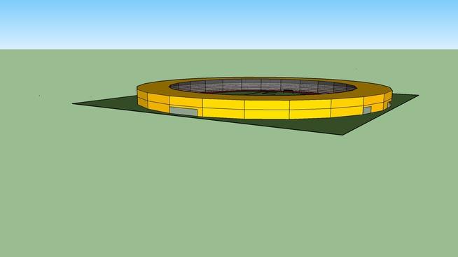 football and athletics stadium