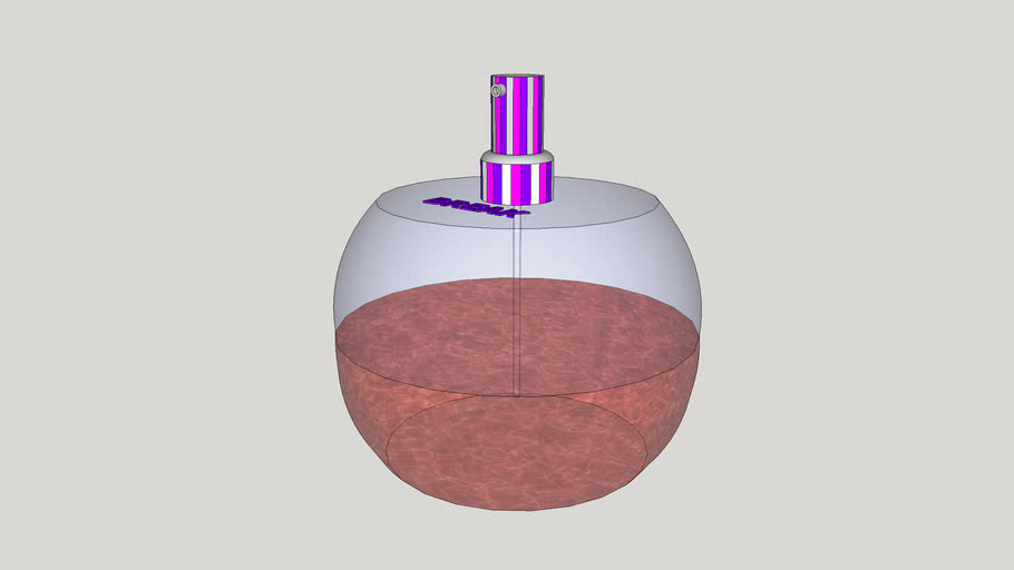 Decoração de closet - Perfume