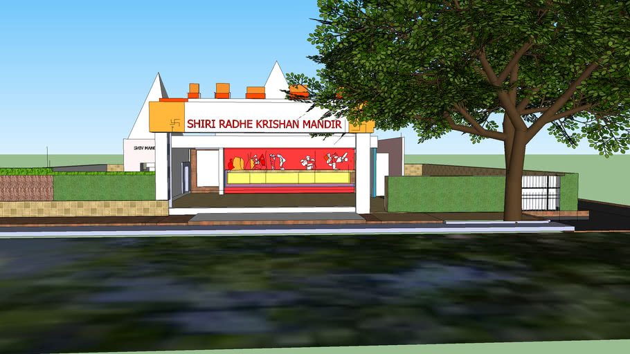 Shri Radhe Krishna Temple ,Layers colony Agra