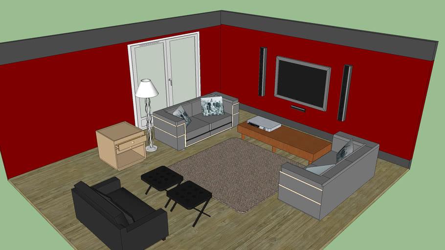 Living Room Salon 3d Warehouse, The Living Room Salon