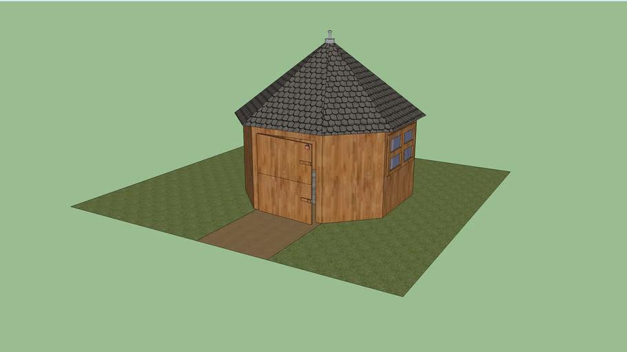 de hut maasland 3D
