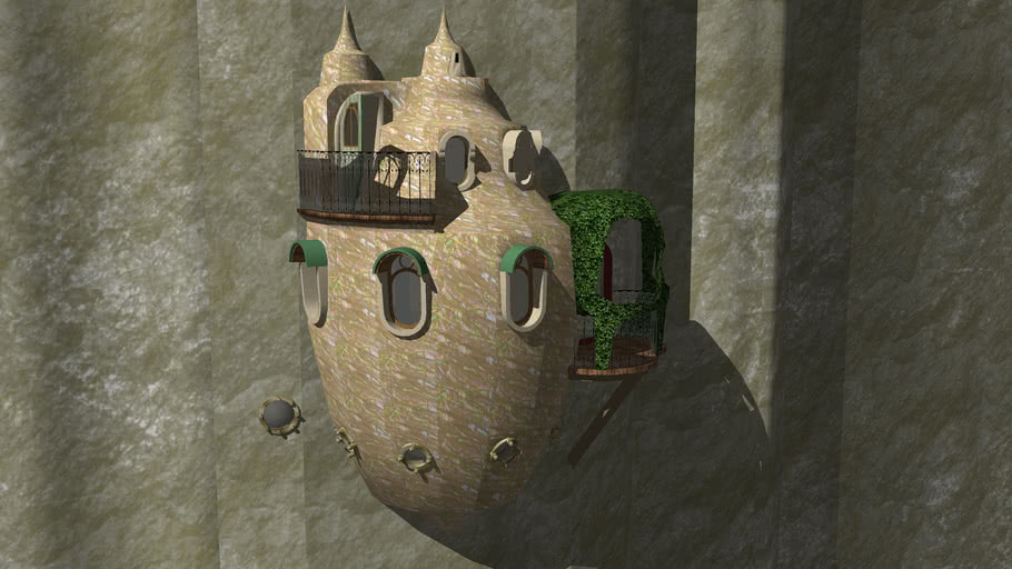 Snail Shell House WIP