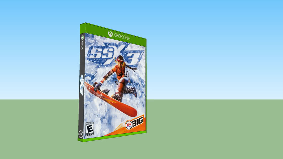 SSX 3 Xbox compatible with Xbox One game case