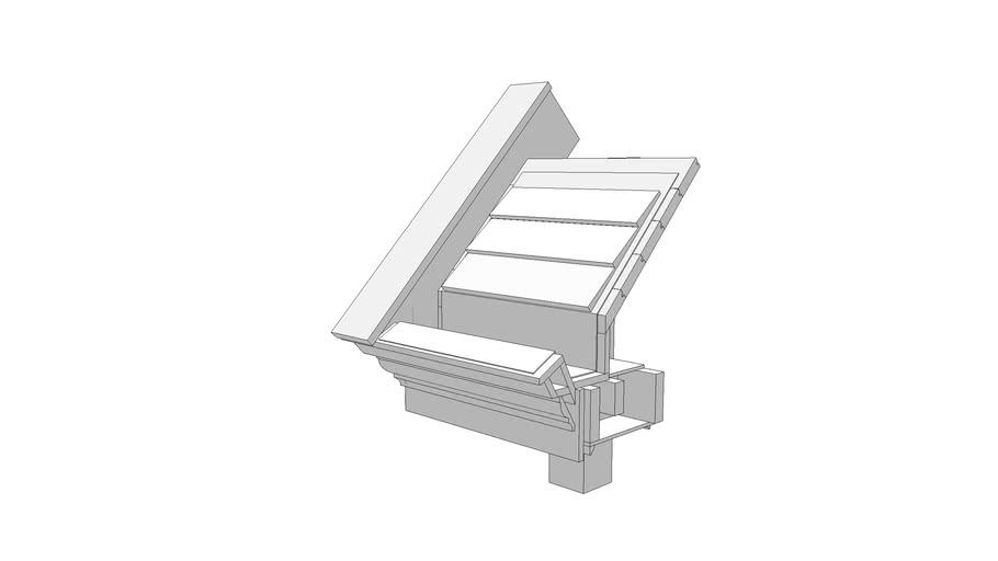 Integrated Roof Gutter Warehouse