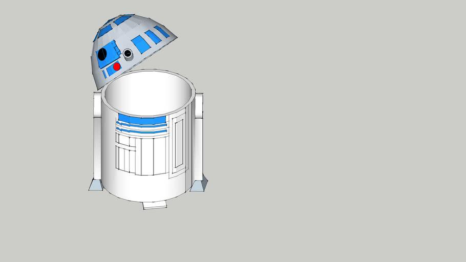 星球大戰系列(R2-D2垃圾桶)