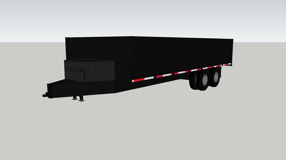 8x20' dump trailer
