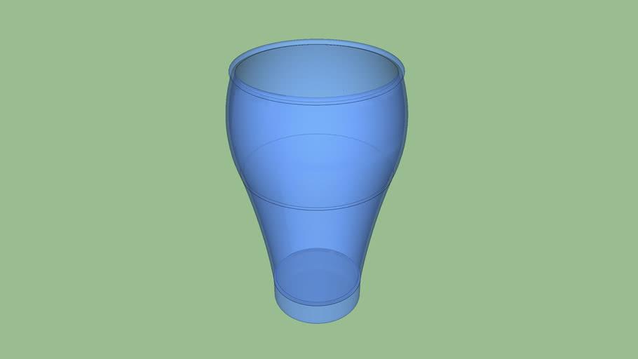 Coca Cola style cup mug