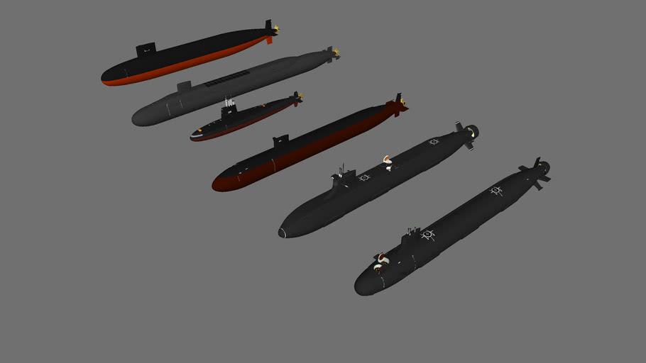 us_navy+nuclear_submarines