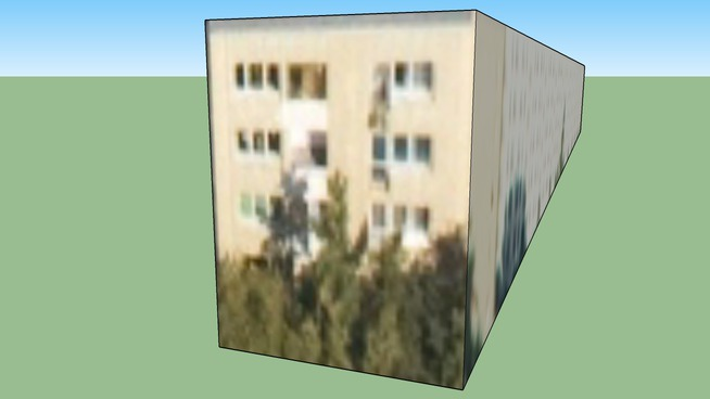 White Condominium Building in Poland