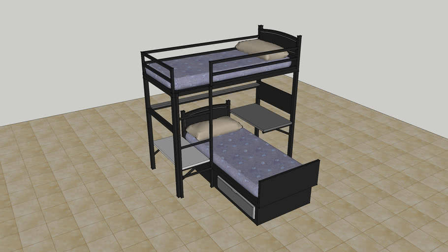 Double Deck Bed 2