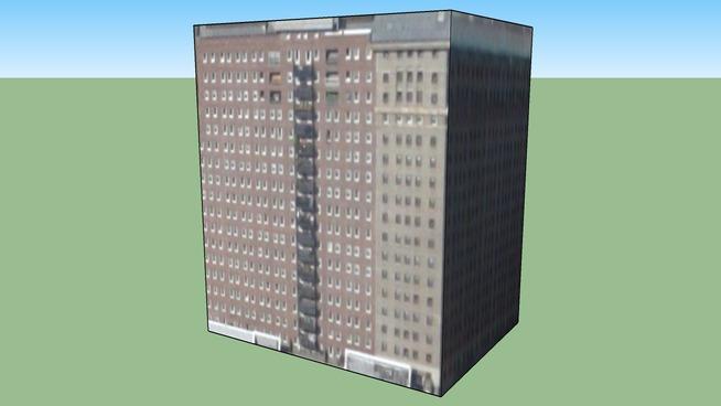 Construção em Chicago, IL, USA