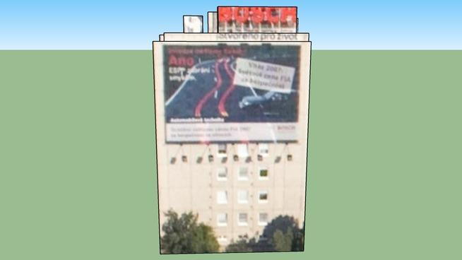 Budova, Sliačská 10, Praha 4, Česká republika