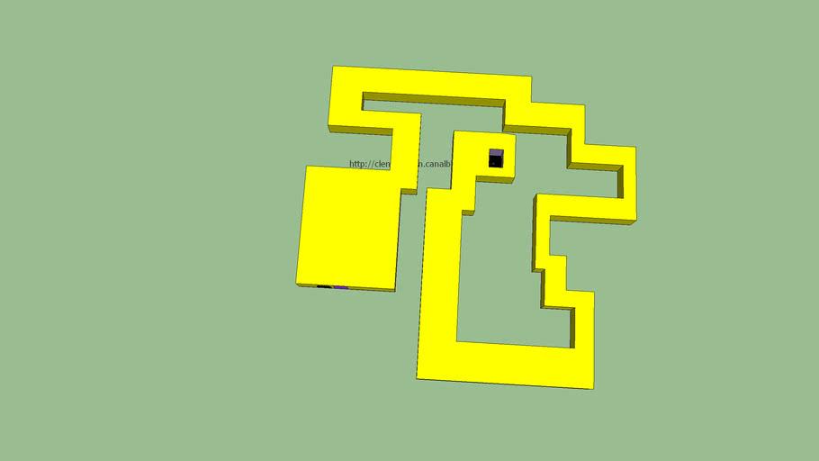 Parcours labyrinthe, niveau 2 / Course-maze, level 2