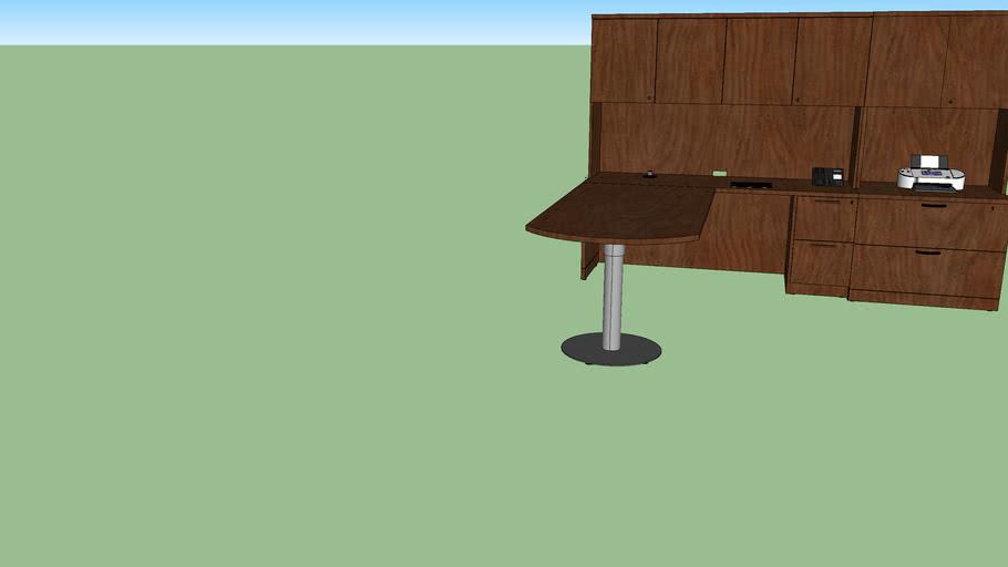 Steelcase office desk