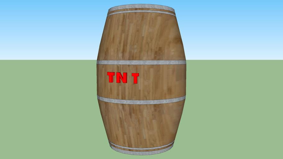 barrel of gunpowder