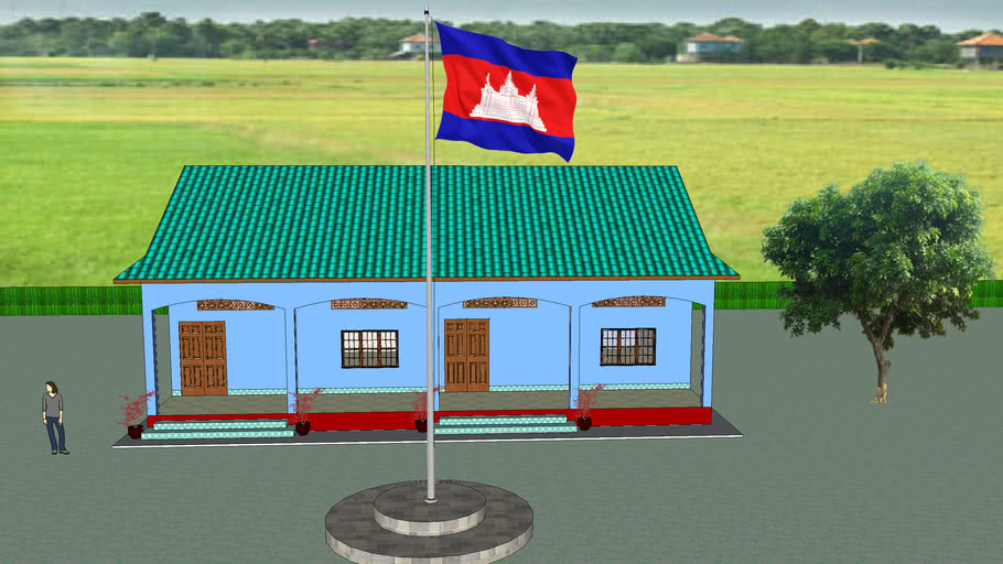 School cambodia champa 2 class