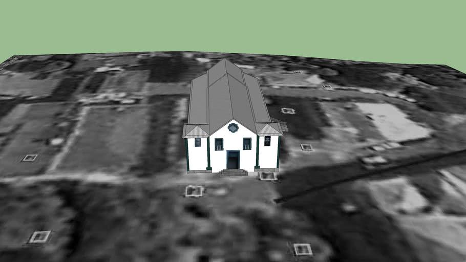 Igreja do Rosario em Lavras/MG
