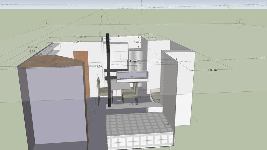 Modelo Casa Bre 32 M2