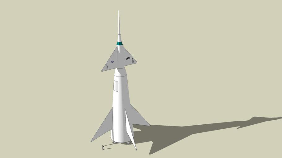 USSS Von Braun - Transport Rocket (1958)