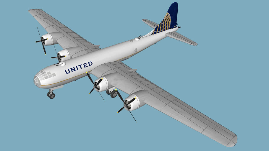 United Airlines - Boeing B29 - 2016 - (f)