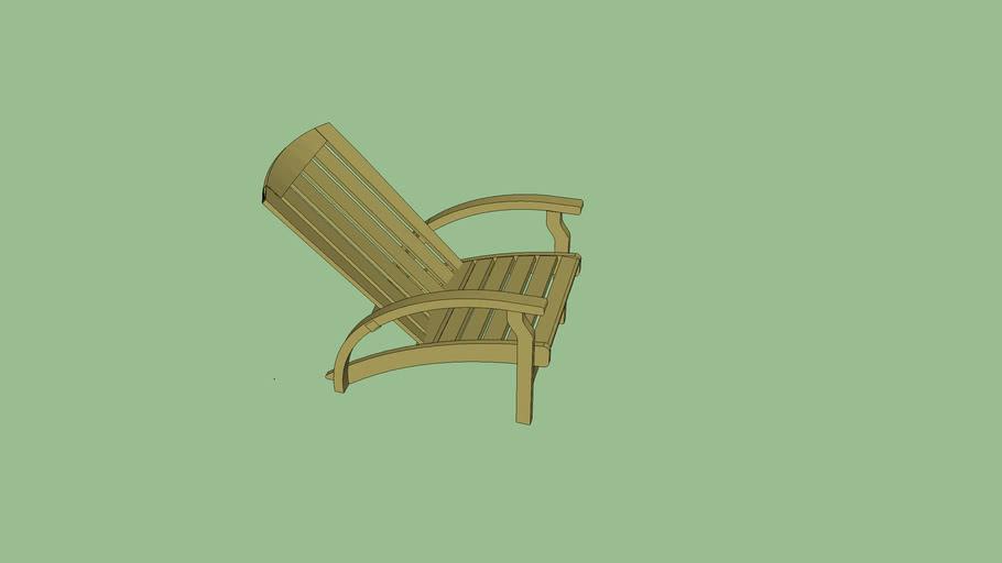 Cadeira Adirondack Colúmbia