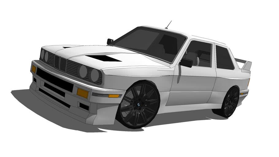 Modified 1990 BMW M3 E30 Coupe