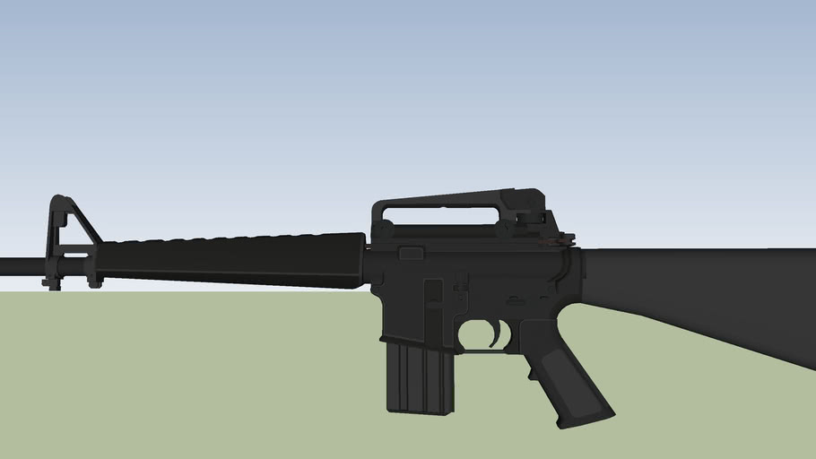 M16A1 Assault Rifle  Veitnam version.