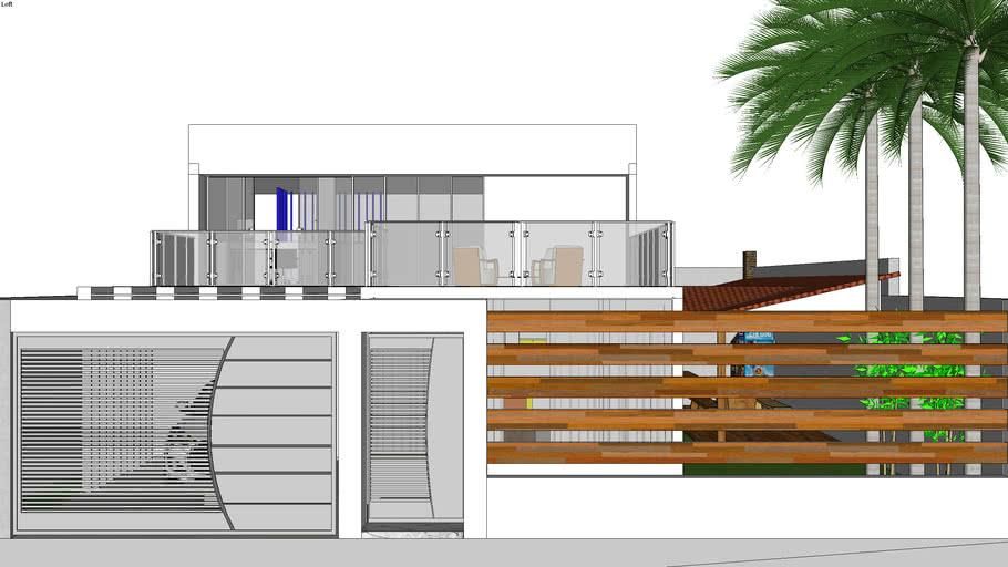 Casa contemporânea Pequena ( Lofth )