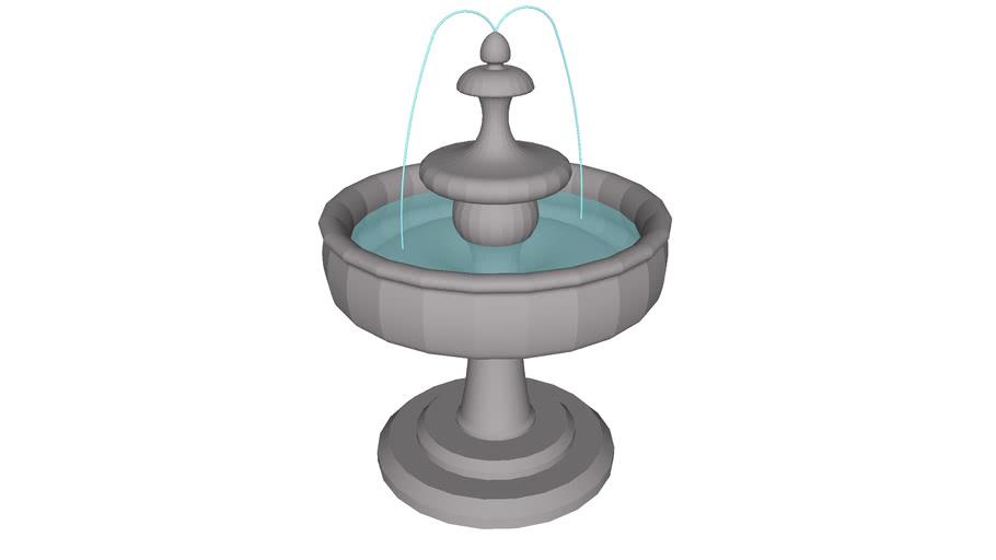 fuente decorativa de jardin, decorative garden fountain