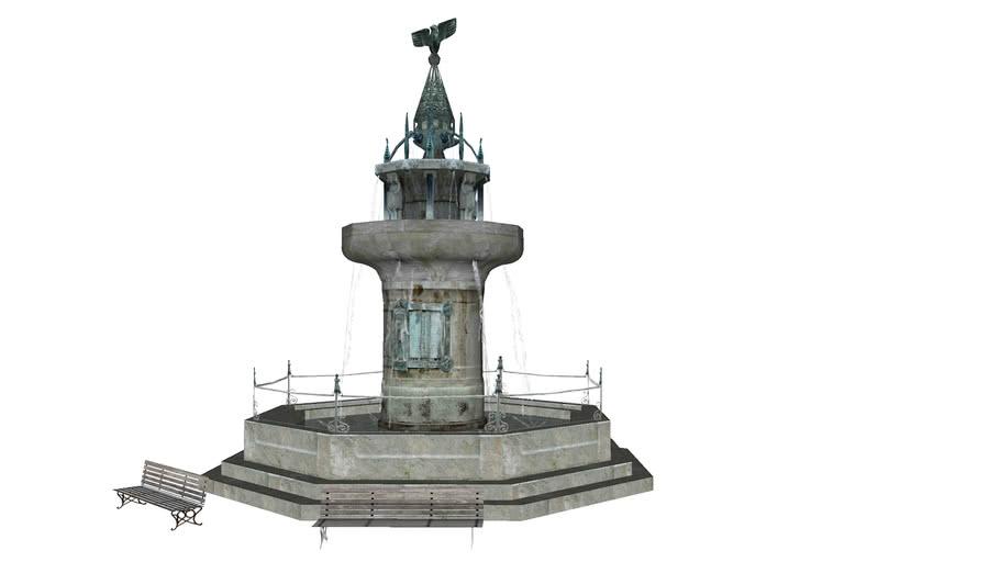 Kriegerbrunnen in Nördlingen
