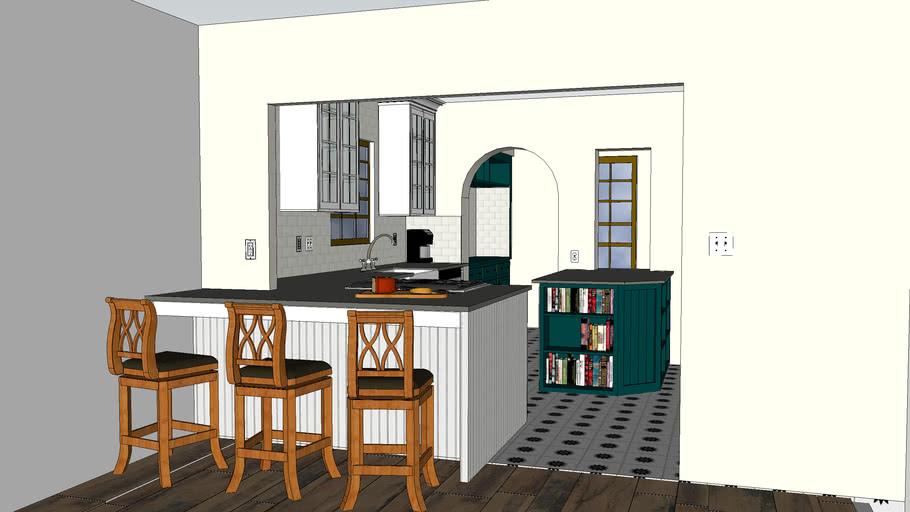 Tudor Style Kitchen