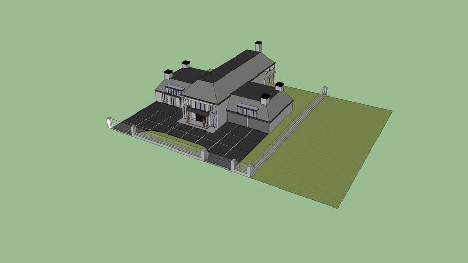 grote villa kan nog worden afgebouwd / huis / bungalow / villa / auto /