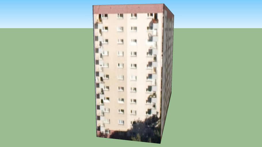 Blok mieszkalny Warszawa, Polska