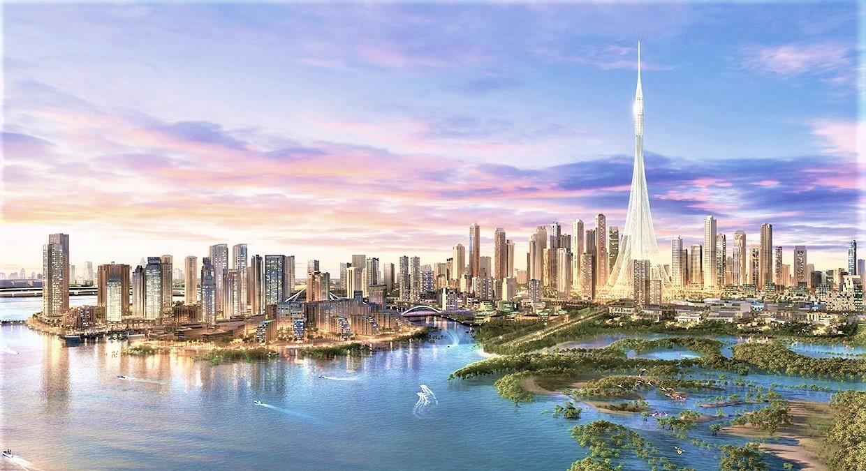 Dubai Creek Harbour 3d Warehouse