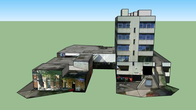 Buildings on Otley Road