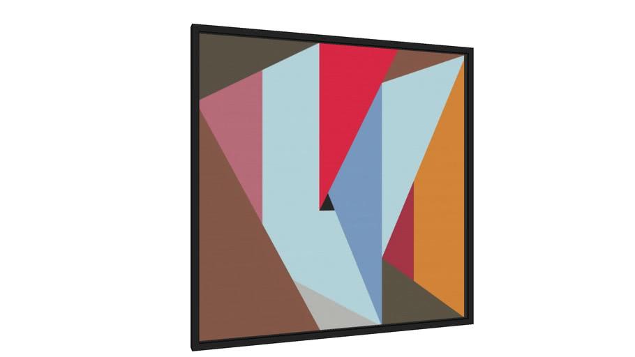 Quadro Composição Abstrata 676 - Galeria9, por Estevez